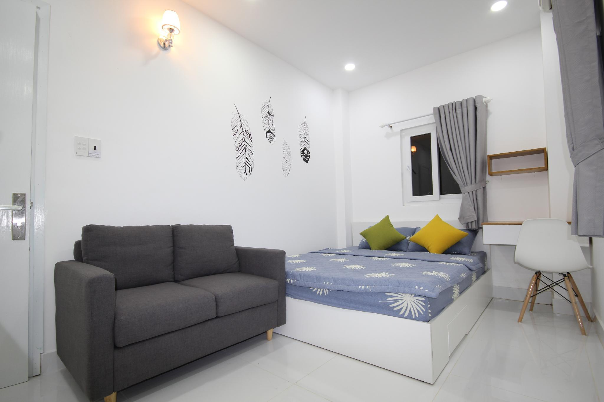 Smiley 9 03. Cheap And Cosy Studio Near Ben Thanh