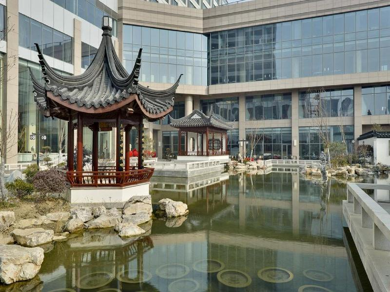 Doubletree by hilton wuxi wuxi china overview for Idea garden hotel wuxi