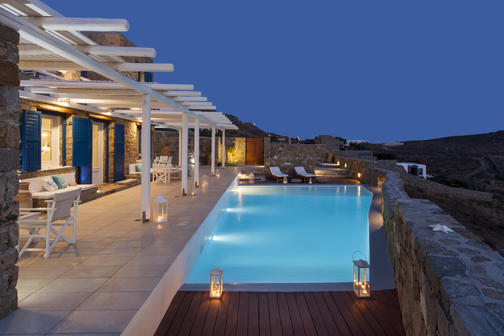 180 View PRIVATE Pool Villa Choulakia To Enjoy The SUN Kissing The SEA
