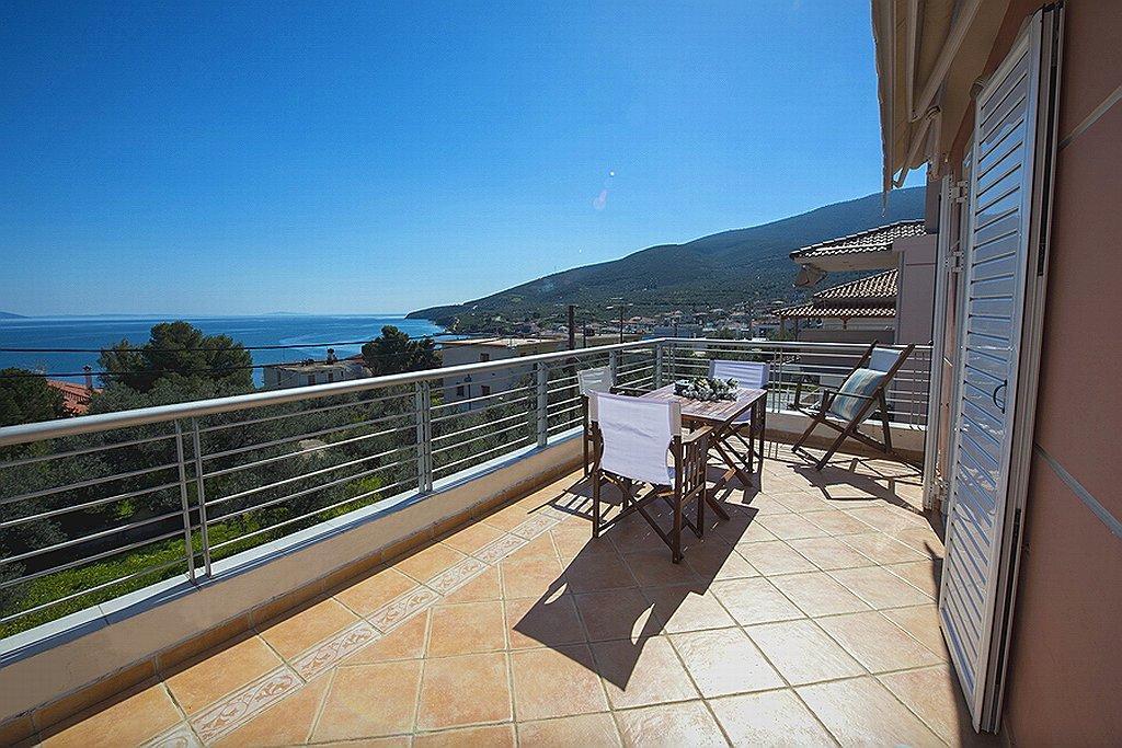 Anna's Sea View Balcony Of Xiropigado