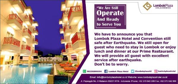Lombok Plaza Hotel Lombok