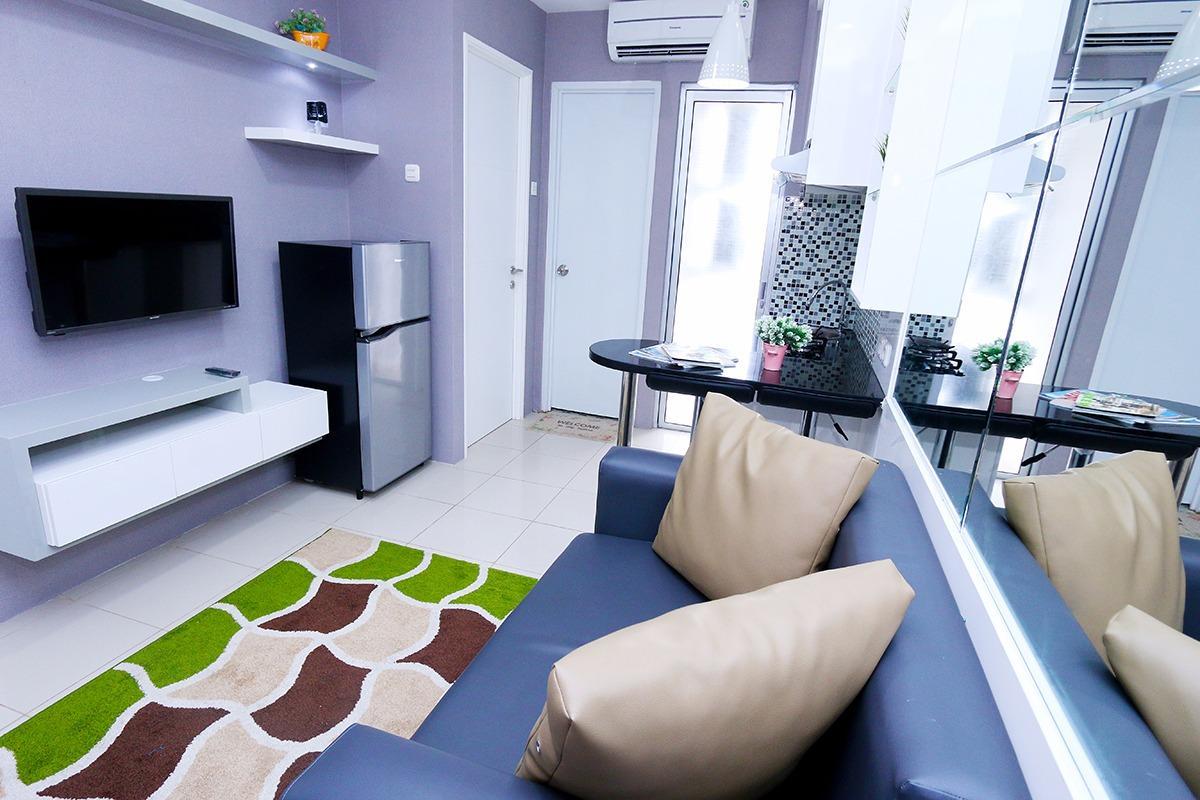2 Bedroom 1 Roomku.com @ Bassura City Apartment