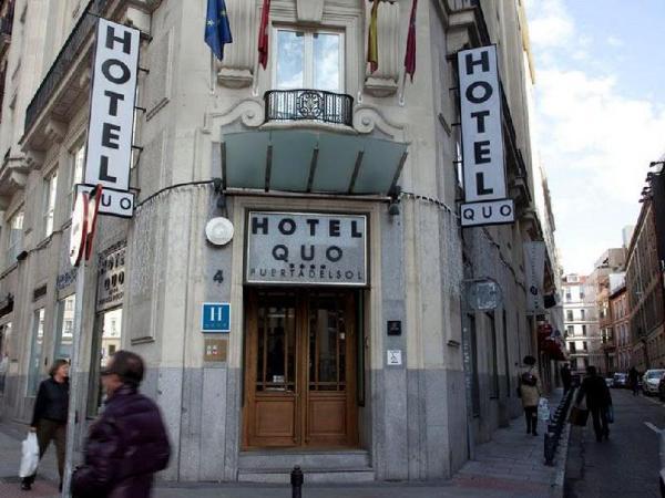 Hotel Quatro Puerta del Sol Madrid