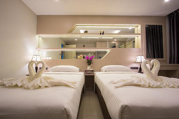 B-your home Hotel Donmueang Airport Bangkok บี-ยัวร์ โฮม โฮเต็ล ท่าอากาศยานดอนเมือง กรุงเทพฯ