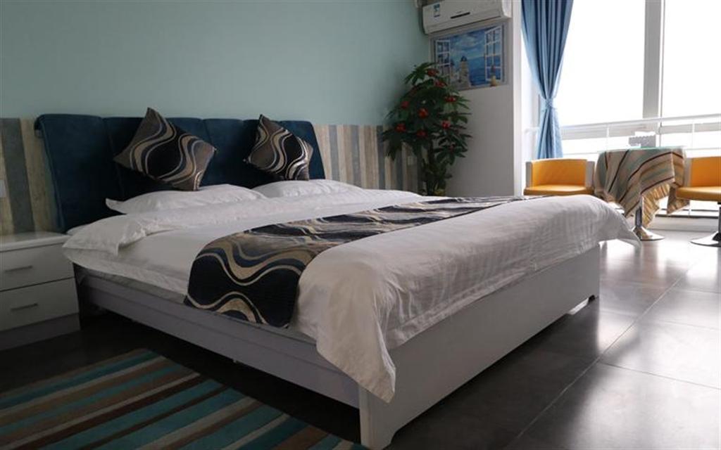BAICHENG Cozy Double Bed Apt Near Niuwangmiao Subway Station
