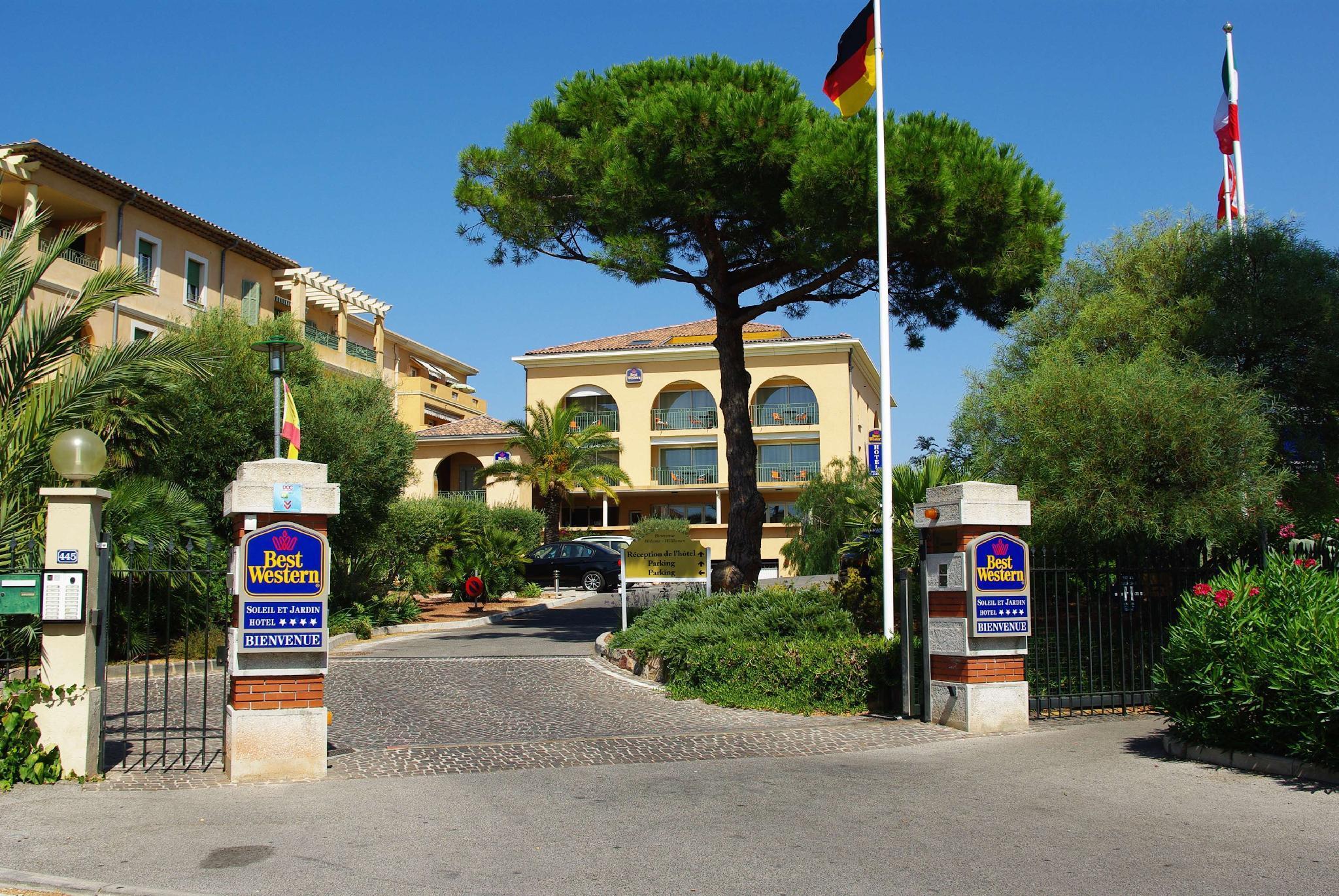 Best Western Hotel Soleil Et Jardin