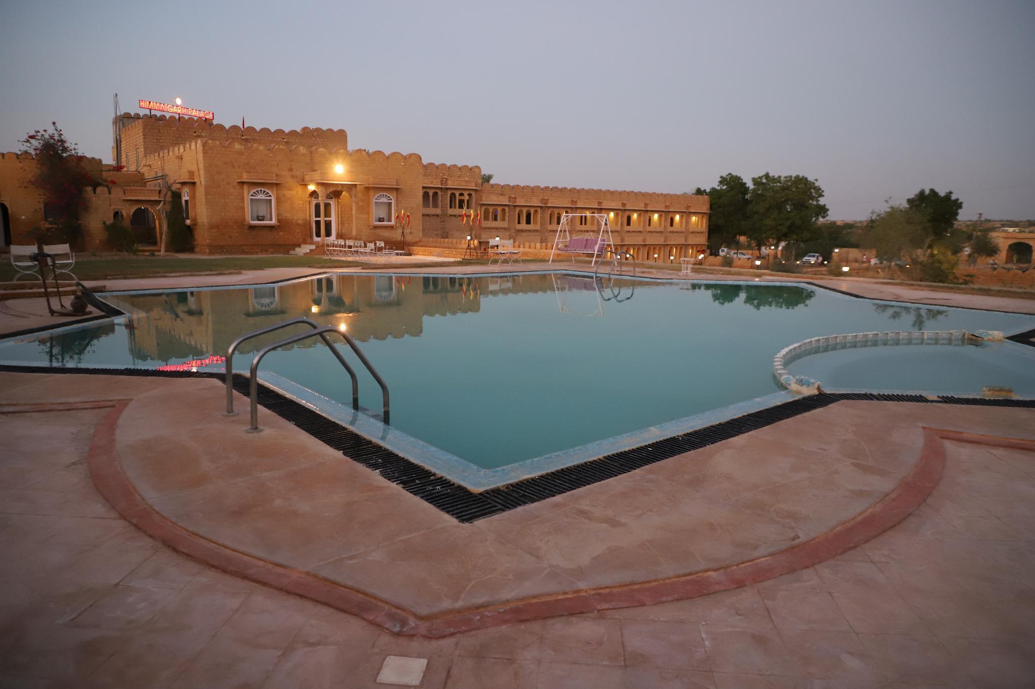 Himmatgarh Palace Jaisalmer