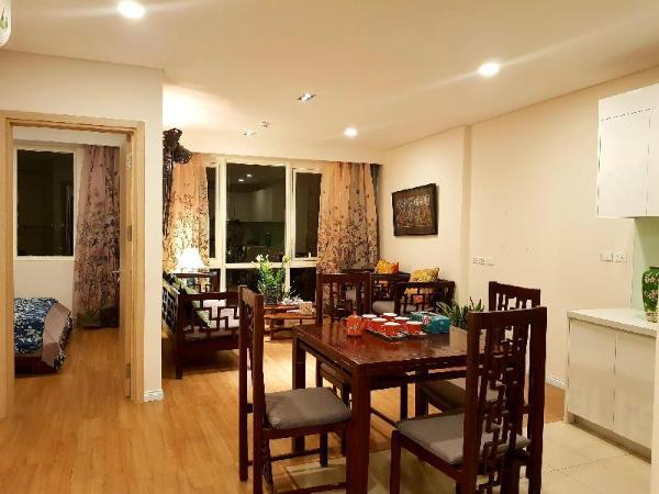 An apartment with 2 bedrooms in Hanoi Hanoi