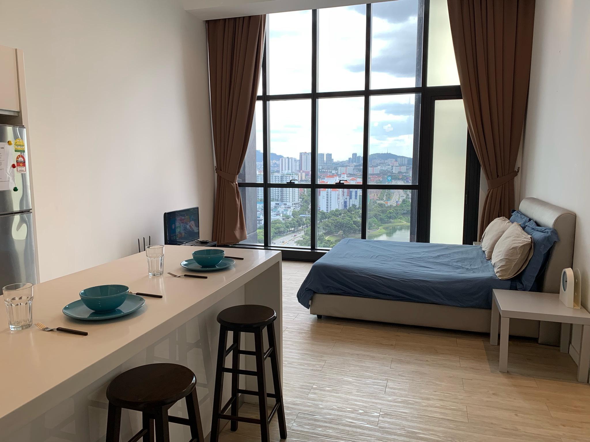 Studio Apartment 1 @ M City Residential Suites