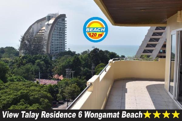 View Talay Residence 6 Wongamat Sand Beach Pattaya