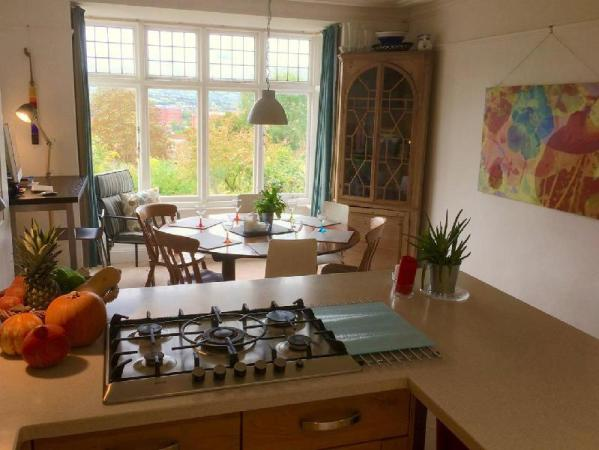 Sunny family home in Clifton Bristol