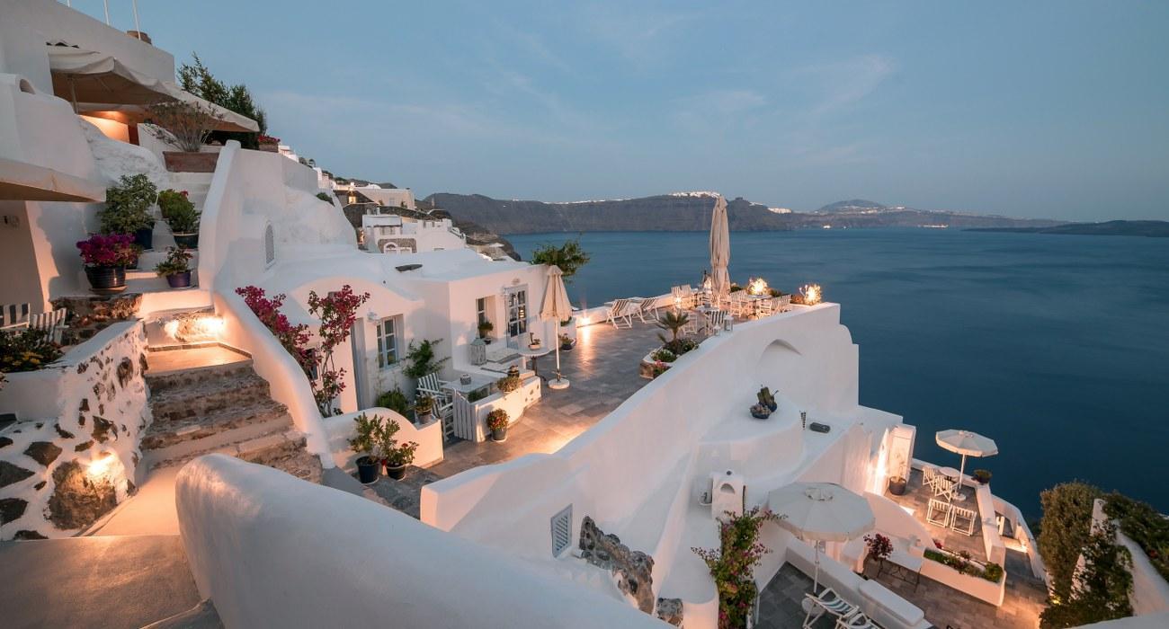 Santorini Aris Caves Hotel In Greece Europe