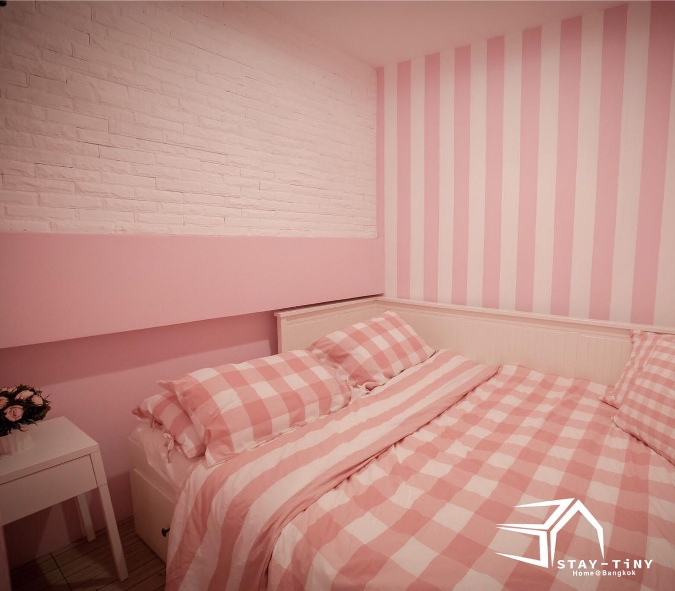STAY TiNY Home Bangkok Pink Room
