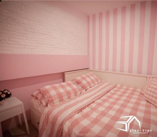 STAY TiNY Home Bangkok Pink Room  Bangkok