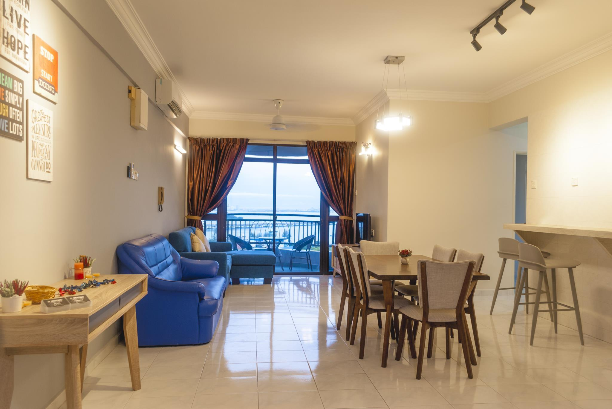 Panoramic 180 Cozy Suite By D Imperio Homestay