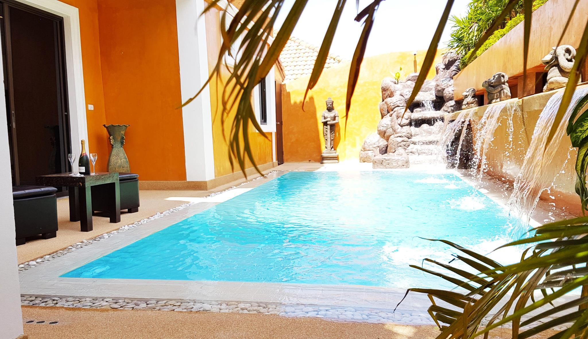 HIDELAND   The Luxury Tropical Villa Pool Jacuzzi