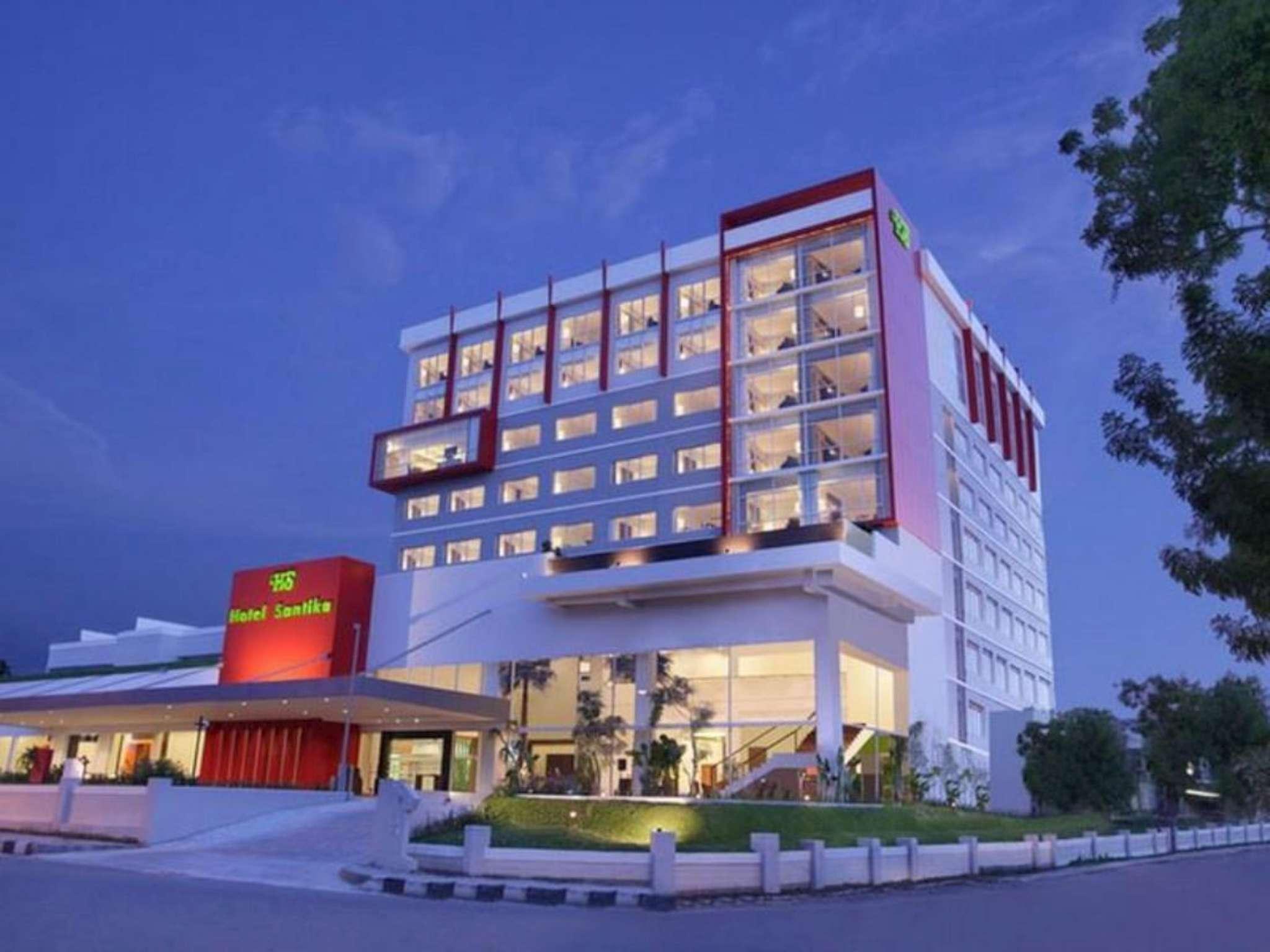 hotel santika palu in indonesia asia