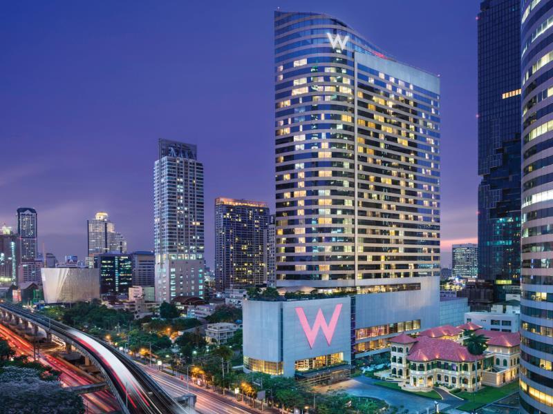 W Bangkok Hotel In Thailand