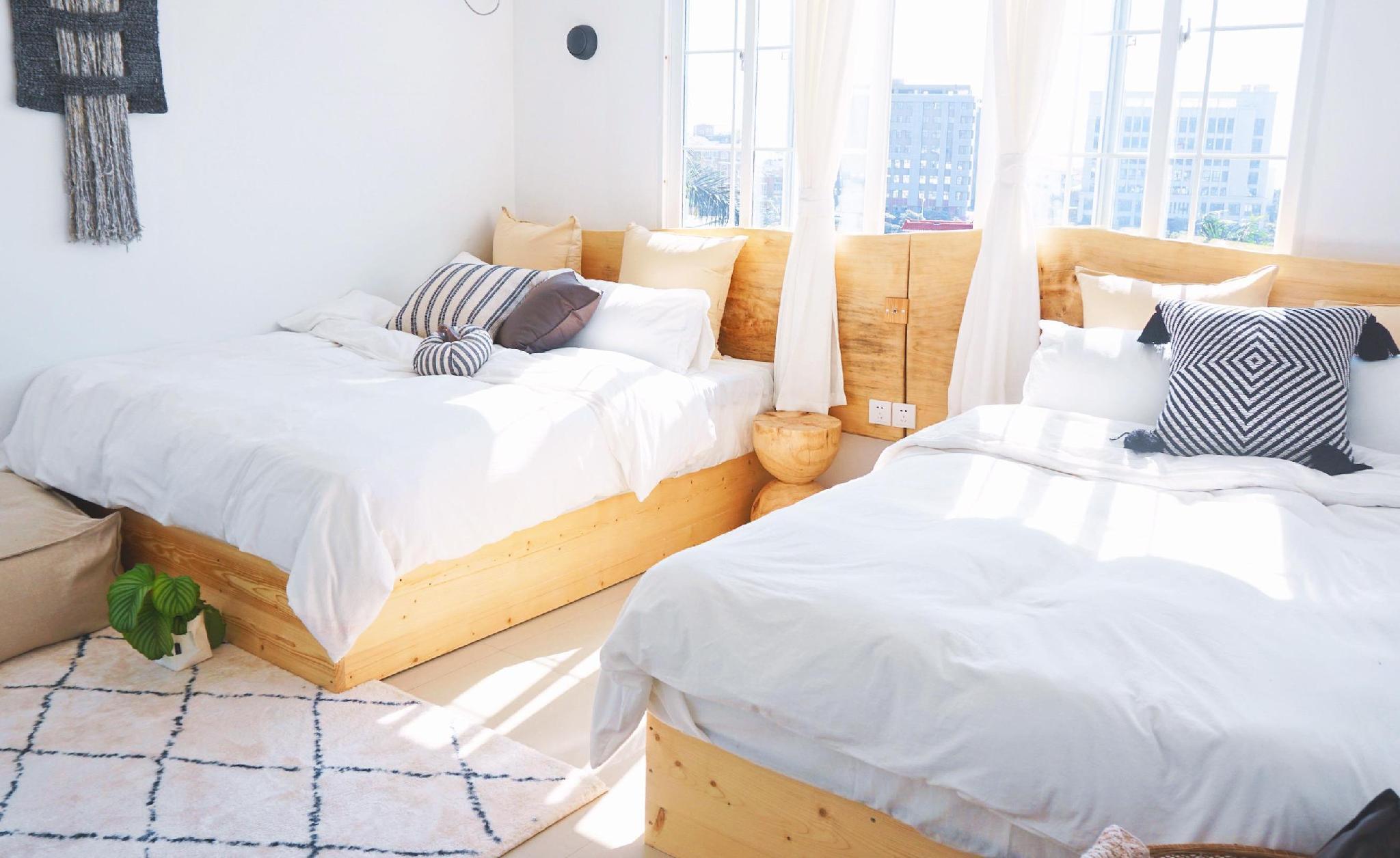 HUAQINGSU 2 Bed Family Studio YABAI