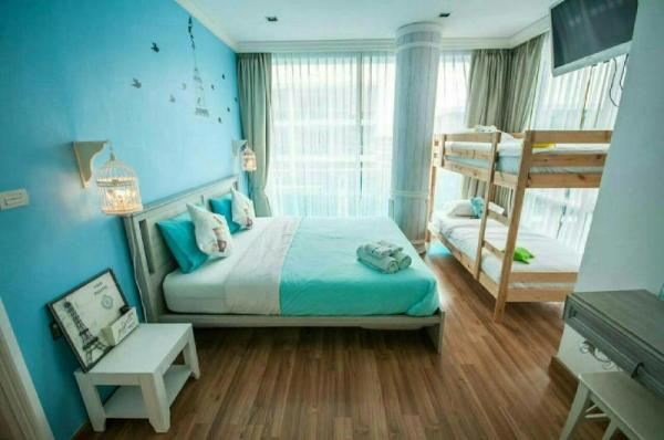 Cozy My Resort 2 BR. Pool View-Waterpark free Wifi Hua Hin