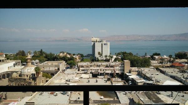 Deep Blue View Tiberias