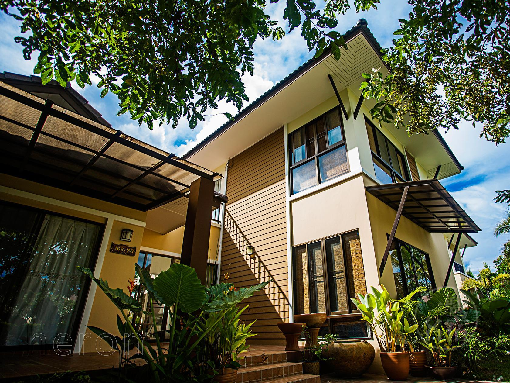 Airone Thai style Villa,3 bed near Golf with paddy Airone Thai style Villa,3 bed near Golf with paddy