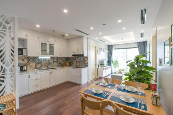 Luxury 2BR Apartment - Lily Hometel Imperia Garden Hanoi
