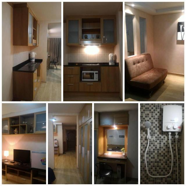 อพาร์ตเมนต์ 1 ห้องนอน 1 ห้องน้ำส่วนตัว ขนาด 35 ตร.ม. – สนามบินนานาชาติดอนเมือง – Champs Elysees Tiwanon