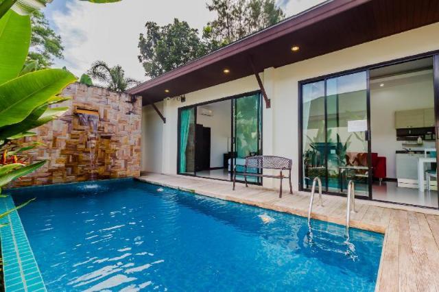 2 ห้องนอน 2 ห้องน้ำส่วนตัว ขนาด 160 ตร.ม. – ฉลอง – Tropical Palai Villas