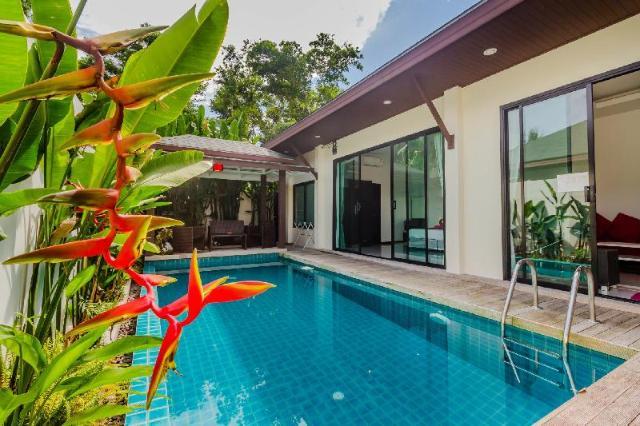 2 ห้องนอน 2 ห้องน้ำส่วนตัว ขนาด 160 ตร.ม. – ฉลอง – Tropical Palai Villas Near Phuket Zoo