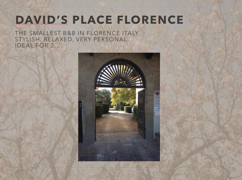 David's Place Florence