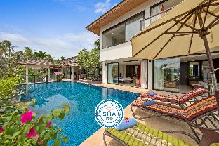 [メ ナム]ヴィラ(1000m2)| 4ベッドルーム/5バスルーム Baan Bua Sawan Modern Sea View Villa,Infinity Pool