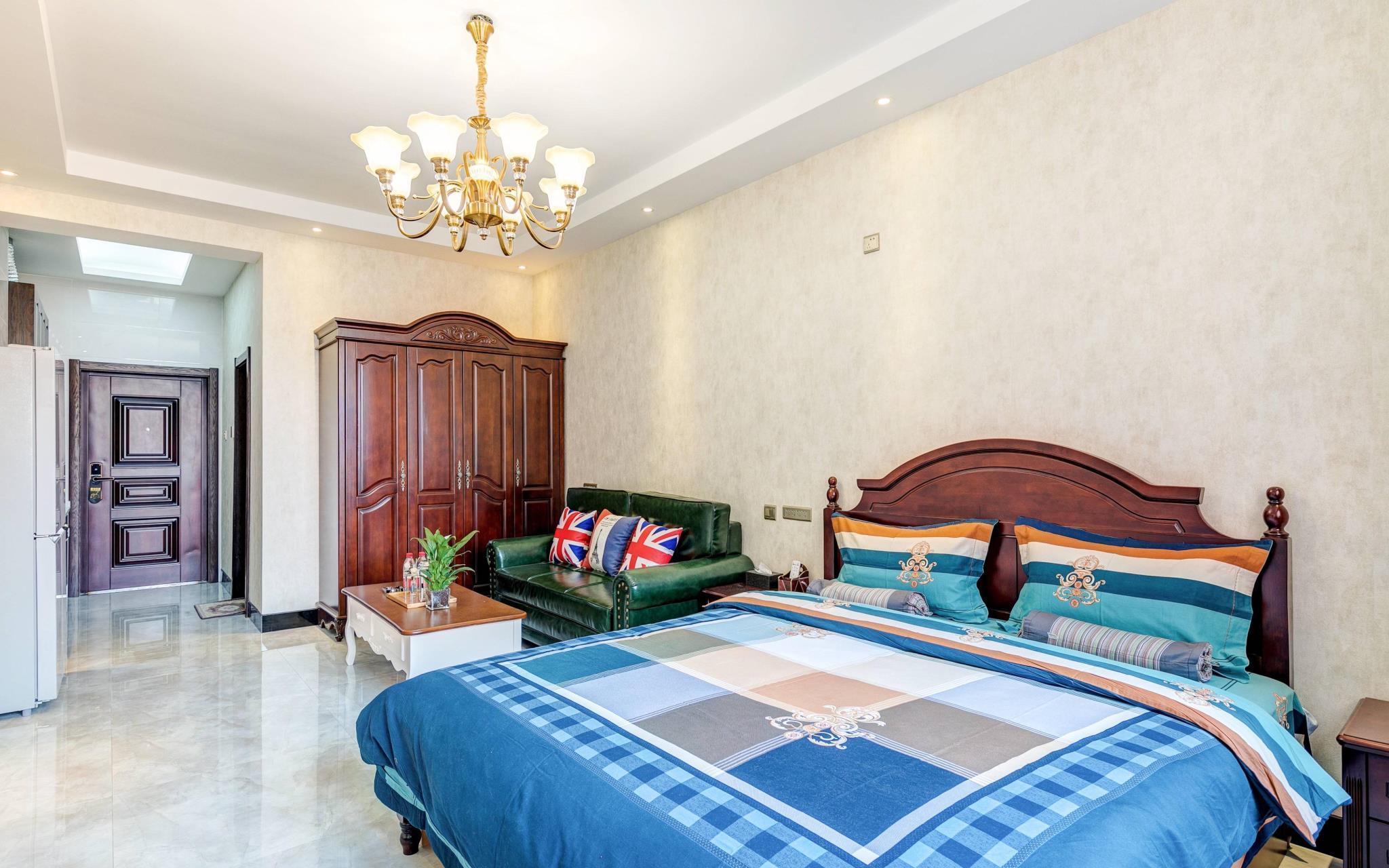 BAISHE Black Apartment For 2ppl