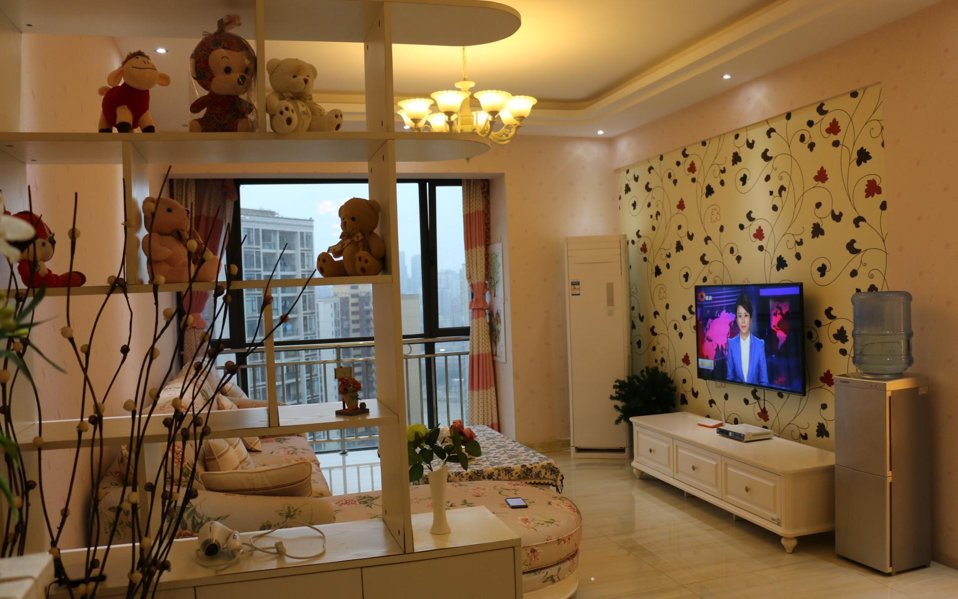 2 Bedroomsand1 Living Room Apt With River View