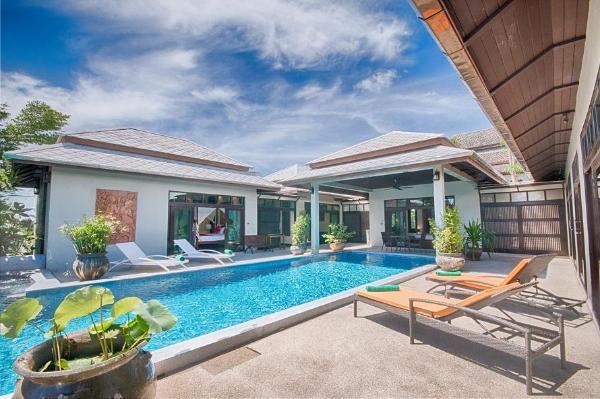 Yupa 2 Villa ( 4 bedroom ) Chaweng Beach Koh Samui