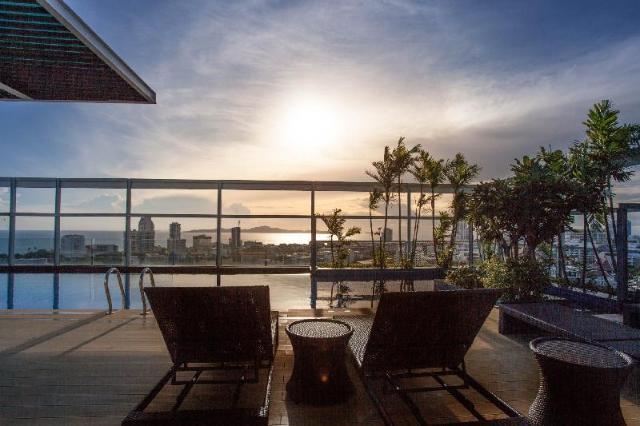อพาร์ตเมนต์ 1 ห้องนอน 1 ห้องน้ำส่วนตัว ขนาด 40 ตร.ม. – เขาพระตำหนัก – Treetop Pattaya by Siriwan (Superior City View) 10