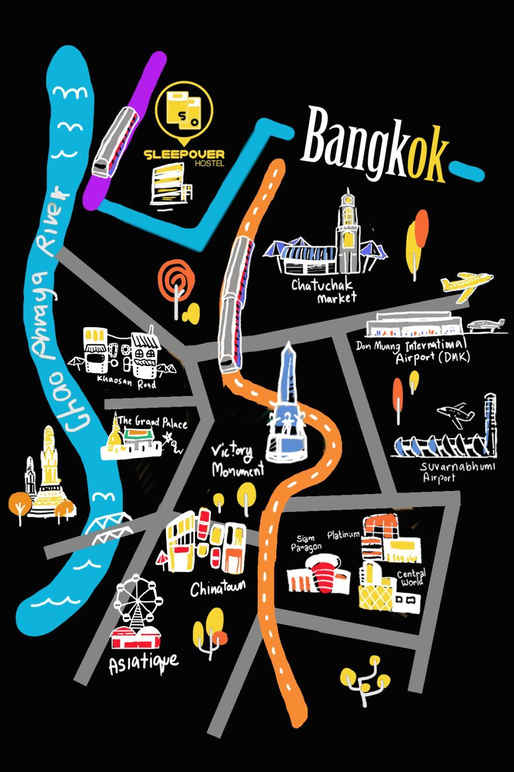 Price Sleepover Hostel Bangkok