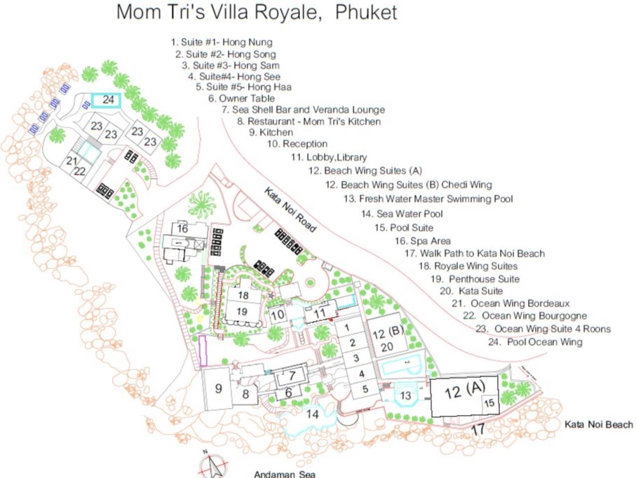 Mom Tris Villa Royale Hotel โรงแรมหม่อมตรี วิลลา รอแยล