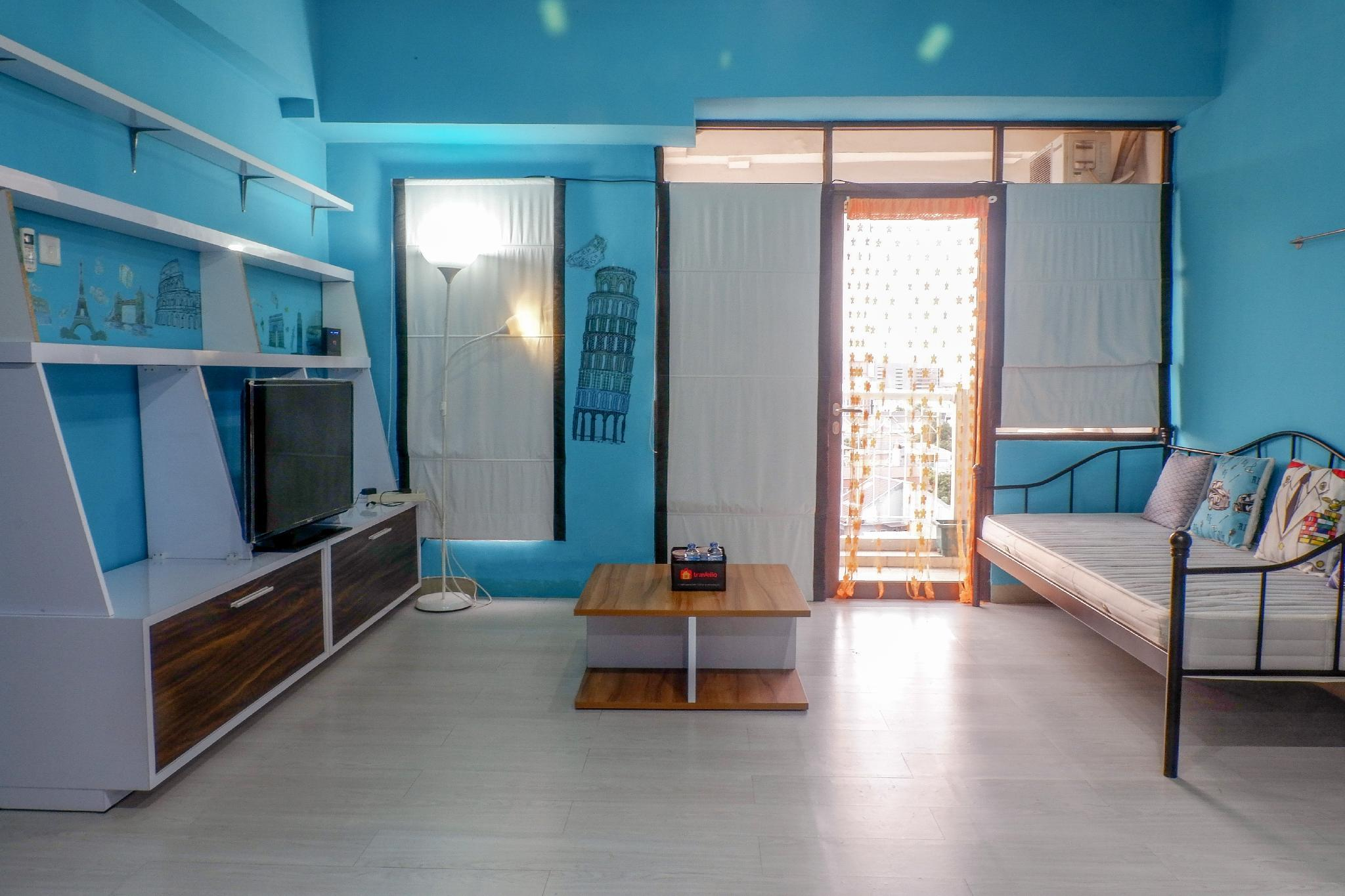 2BR Modern Minimalis Salemba Residence By Travelio