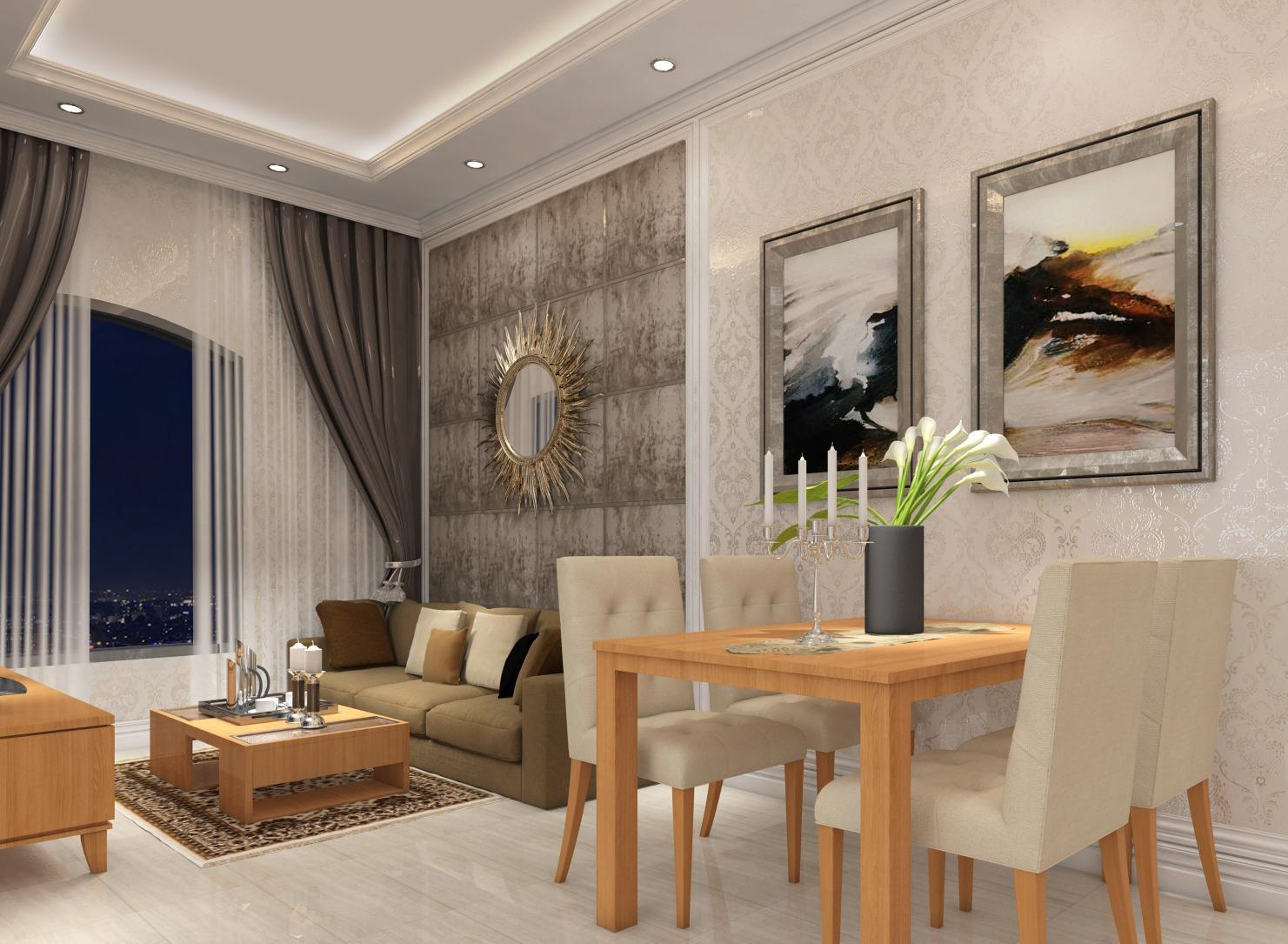 RUNG HUONG APARTMENT   HENRY    140m2 3'BR