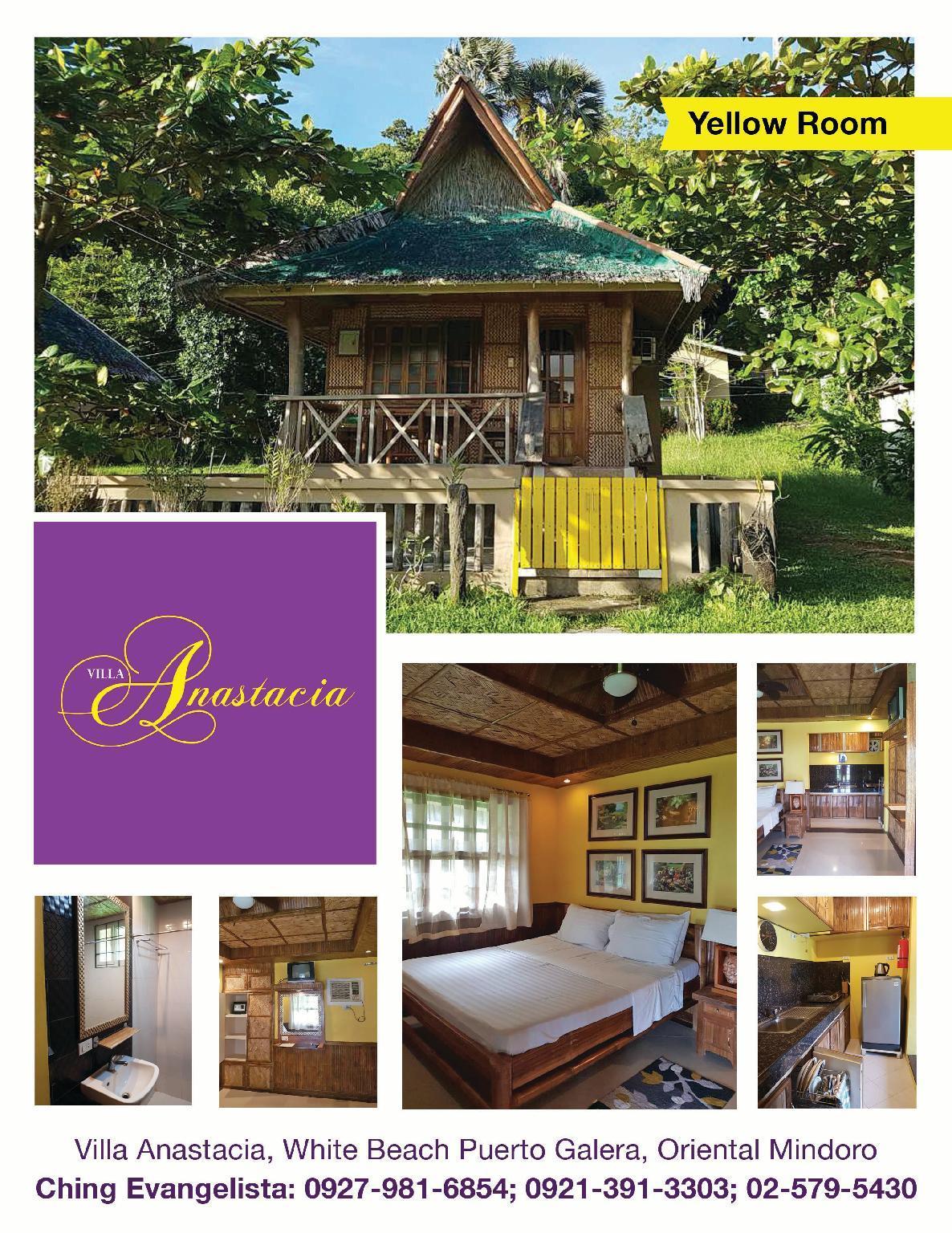 Villa Anastacia Yellow Room