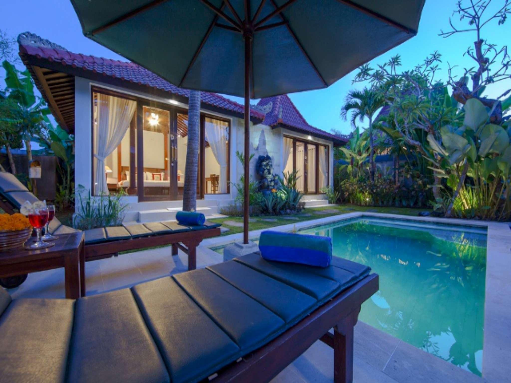 Unique Family Pool Villa 2 BR At Anyar Canggu