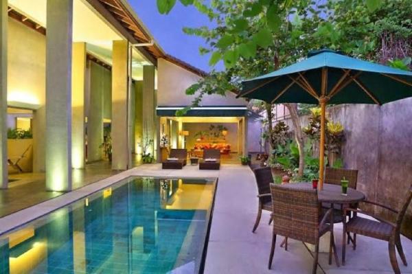 4 BDR Maya Loka Villas at Seminyak Bali