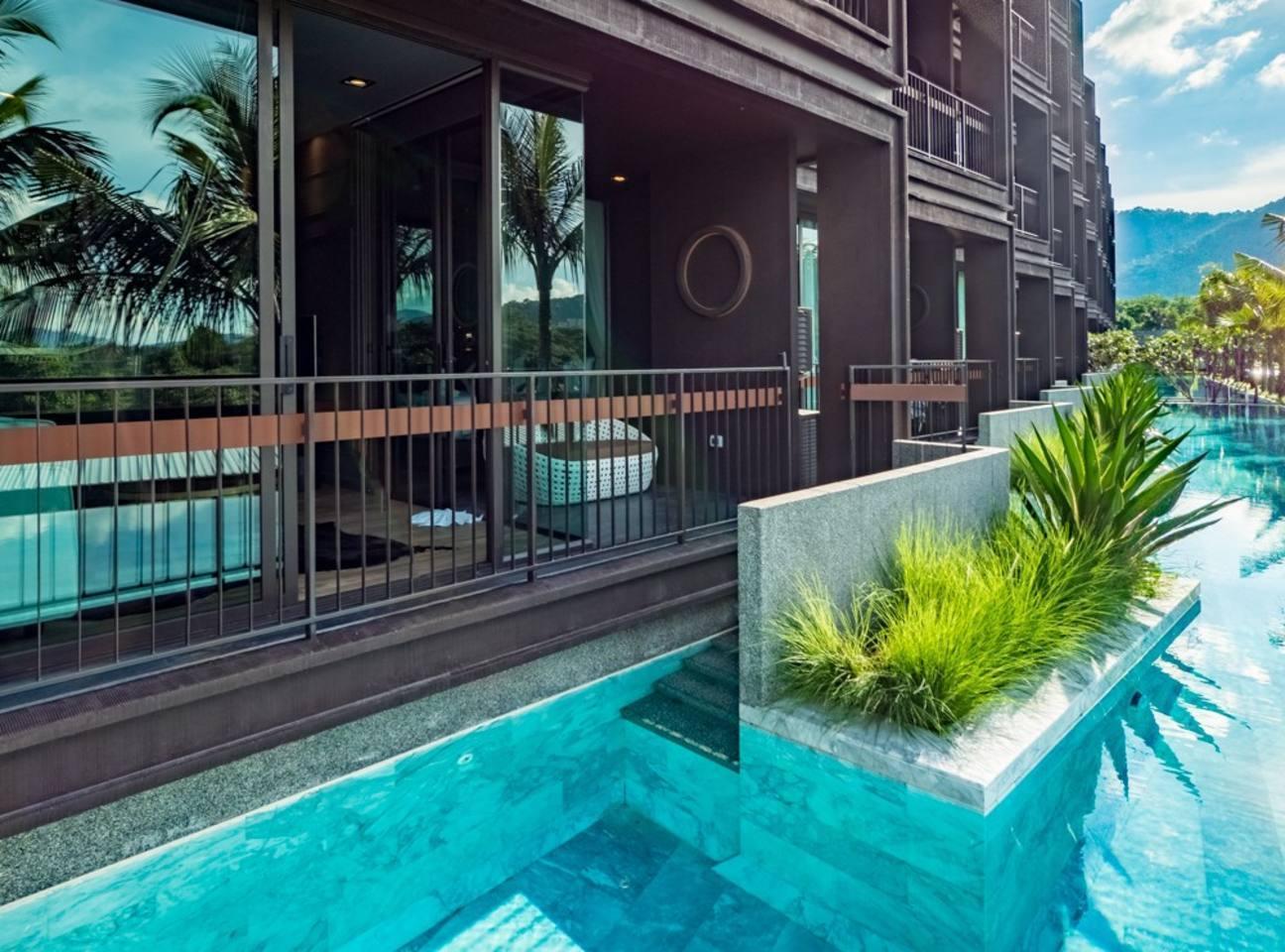 Modern 1 BDR Pool Access @ Rawai-Naiharn Modern 1 BDR Pool Access @ Rawai-Naiharn