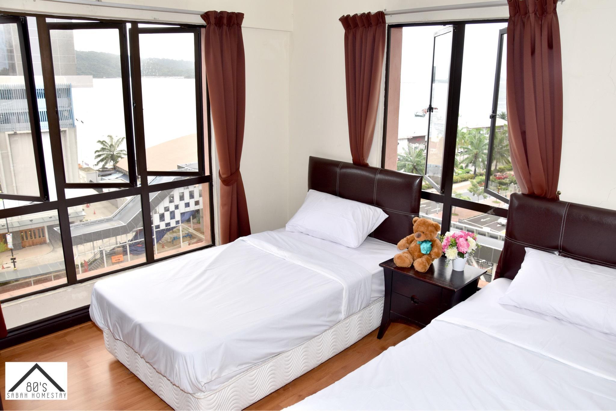 80's Marina Court Resort Kota Kinabalu  Seaview 4