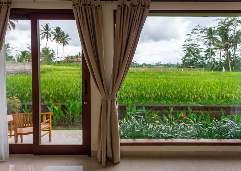 Best Room Rice Field View In Ubud