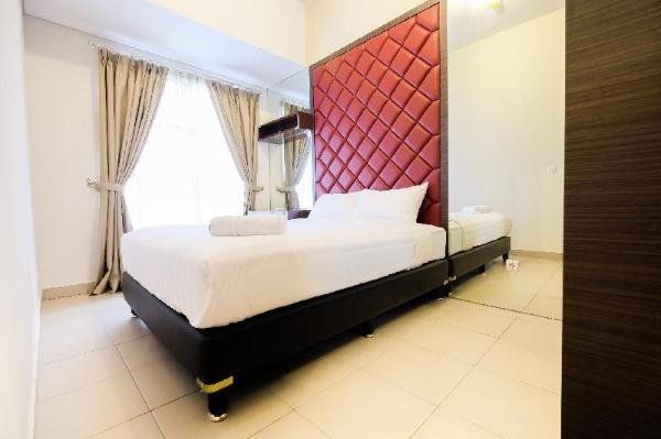 Luxury 1BR Saveria Apartement By Travelio Tangerang