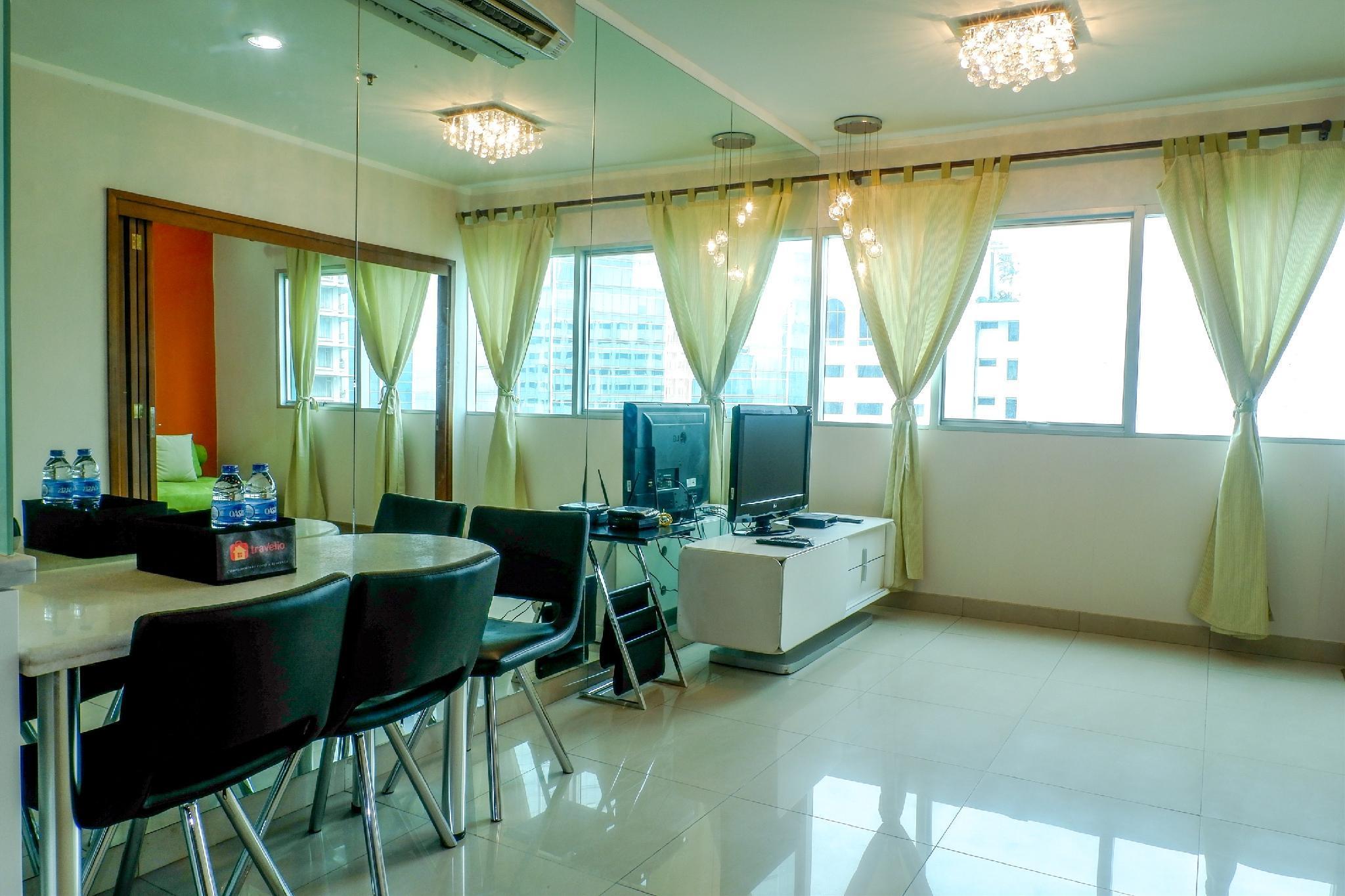 Discount 1BR Apt @ Sahid Sudirman Residence By Travelio
