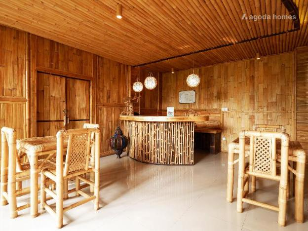 Family room @ Bamboo Hotel Ubud (rice fields view)