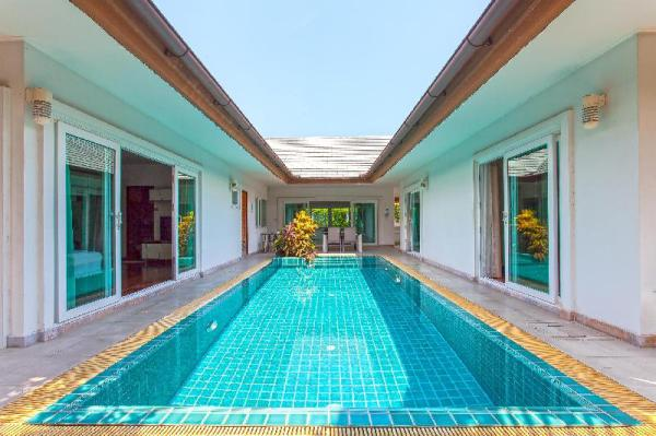?Summer Sands | 3BR Beach & Pool Villa in Pattaya Pattaya